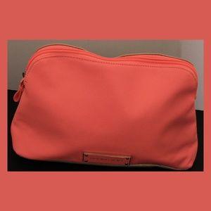 Victoria's Secret Pink & Gold Cosmetic/Travel Bag